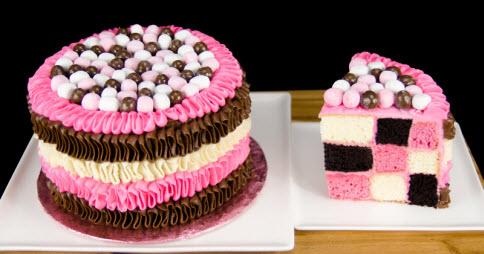 Checkerboard Cake Recipe Using Cake Mix