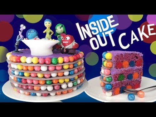 Disney Pixar InsideOut Cake Enjoy Easy Meals