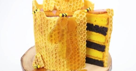 Honeycomb Cake Ideas