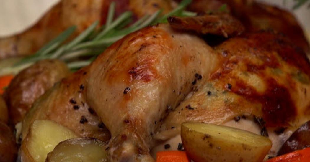 Bundt Pan Chicken Rotisserie Style Enjoy Easy Meals